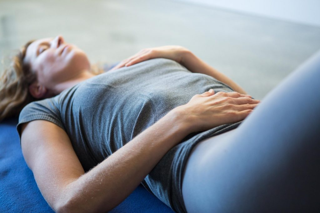 Релаксиране на тялото с едно просто упражнение