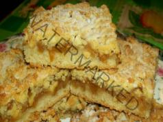 Сладкиш с конфитюр от ябълки и аромат на ванилия