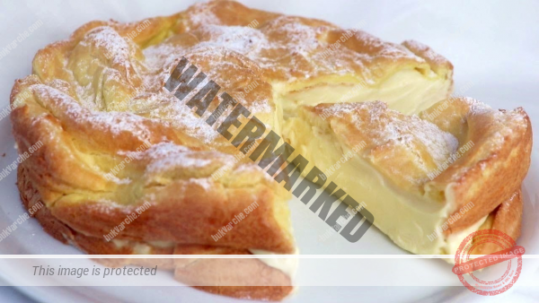 Торта с яйчен крем - сочен и нежен домашен десерт