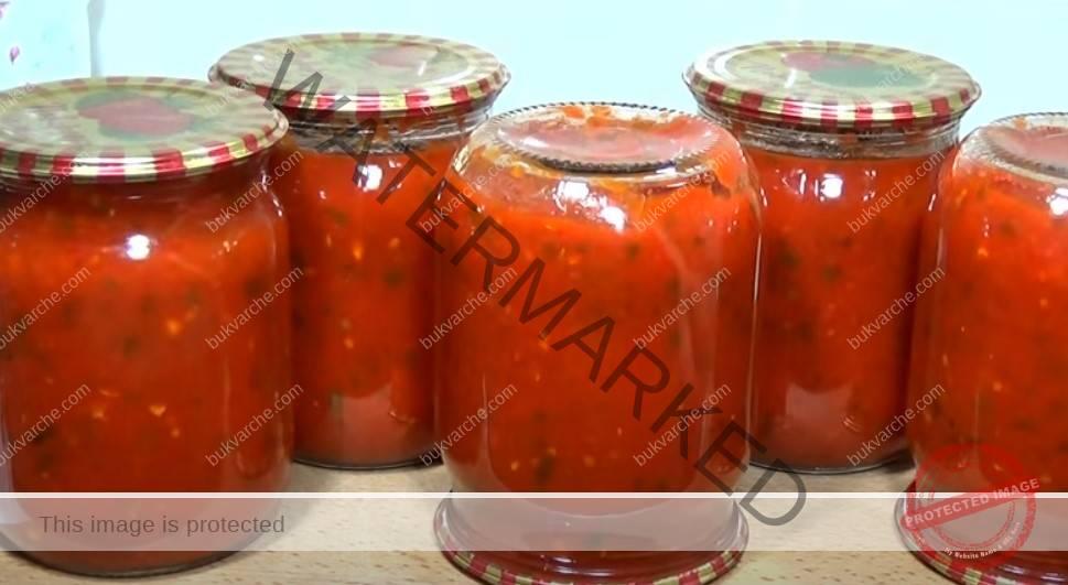 Рецепта за аджика без оцет за зимата - вкусен и ароматен сос