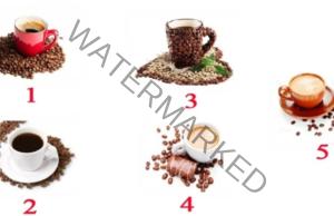 Верен и забавен тест на личността. Изберете една чаша с кафе!