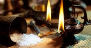 Изчистване на пространството със сол. Лесен ритуал