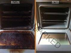 Как да почистим фурната с домашни средства без усилие