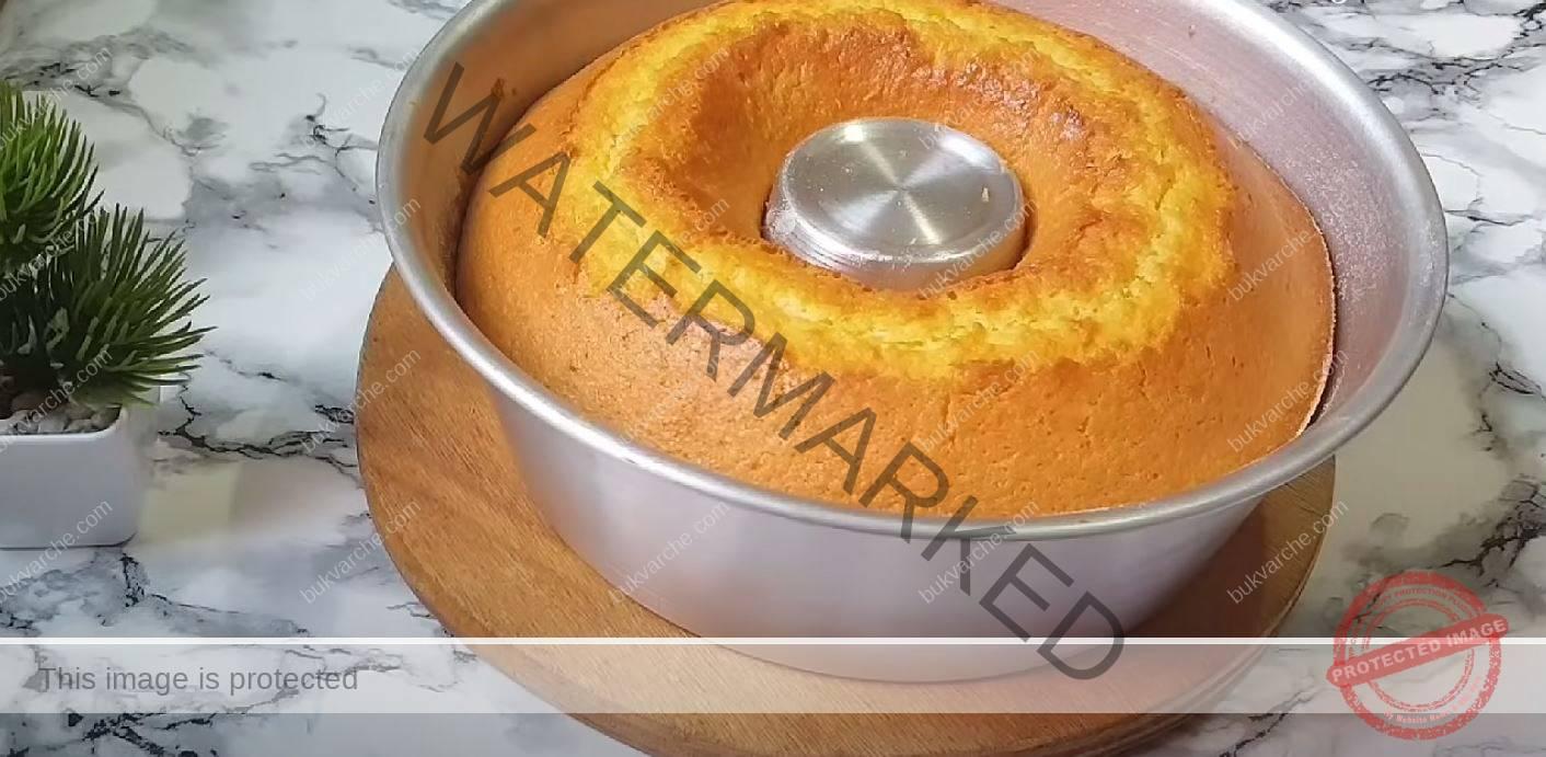 Кекс без брашно: необходими са ви 5 яйца и 3 пудинга