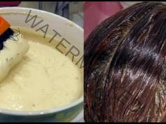 Маска за увредена коса, която стимулира растежа