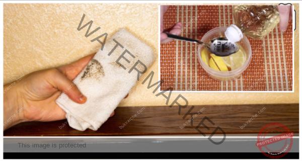 Почистване на прах с домашно приготвено средство