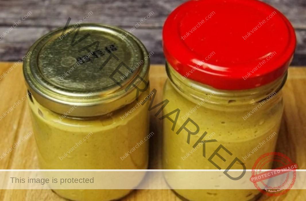 Рецепта за домашна горчица с вода от краставици