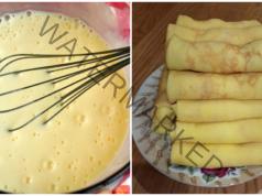 Рецепта за палачинки за солен или сладък пълнеж