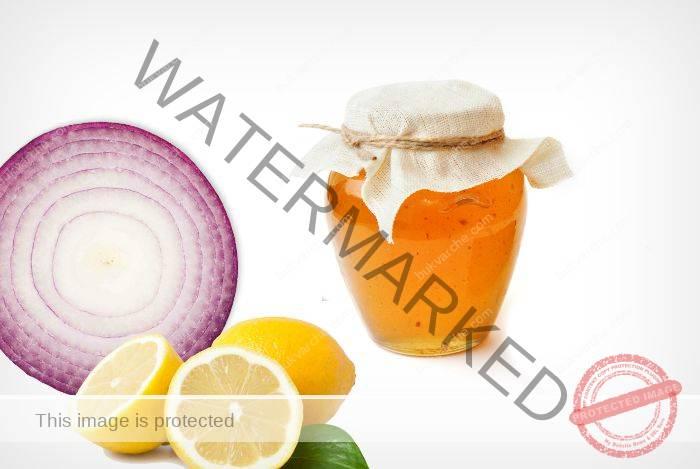 Сироп за имунната система от лимони, лук и мед