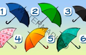 Точен тест с чадъри. Узнайте нещо интересно за себе си!