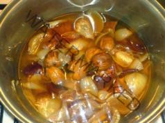 Чай за кашлица от орехи, независимо дали е суха или продуктивна