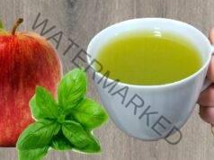 Чай от ябълки и босилек за добро храносмилане и здрав стомах