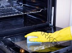 Чисто стъкло на фурната: ефикасна домашна смес