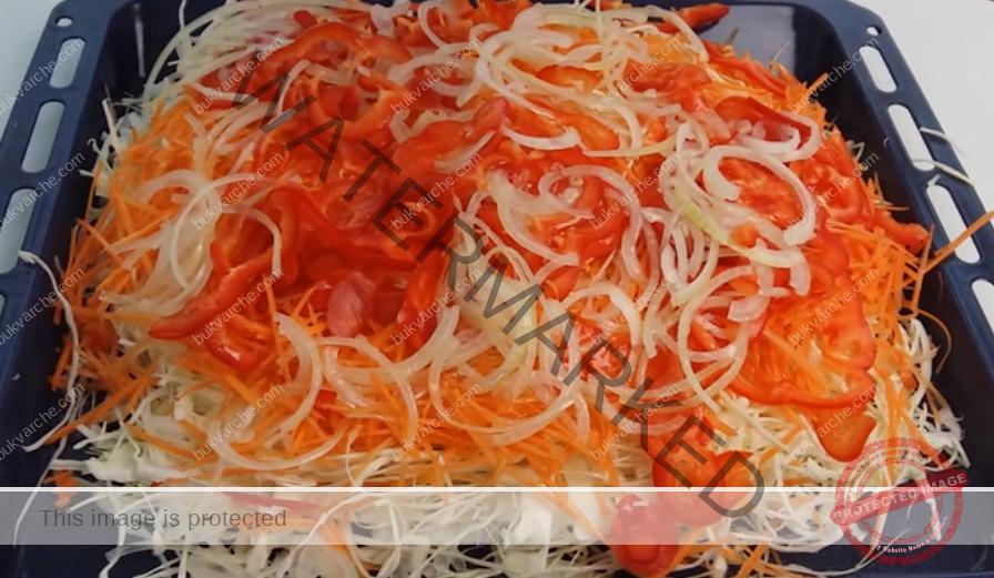 Зелева салата за зимата - получава се вкусна и издържа дълго време