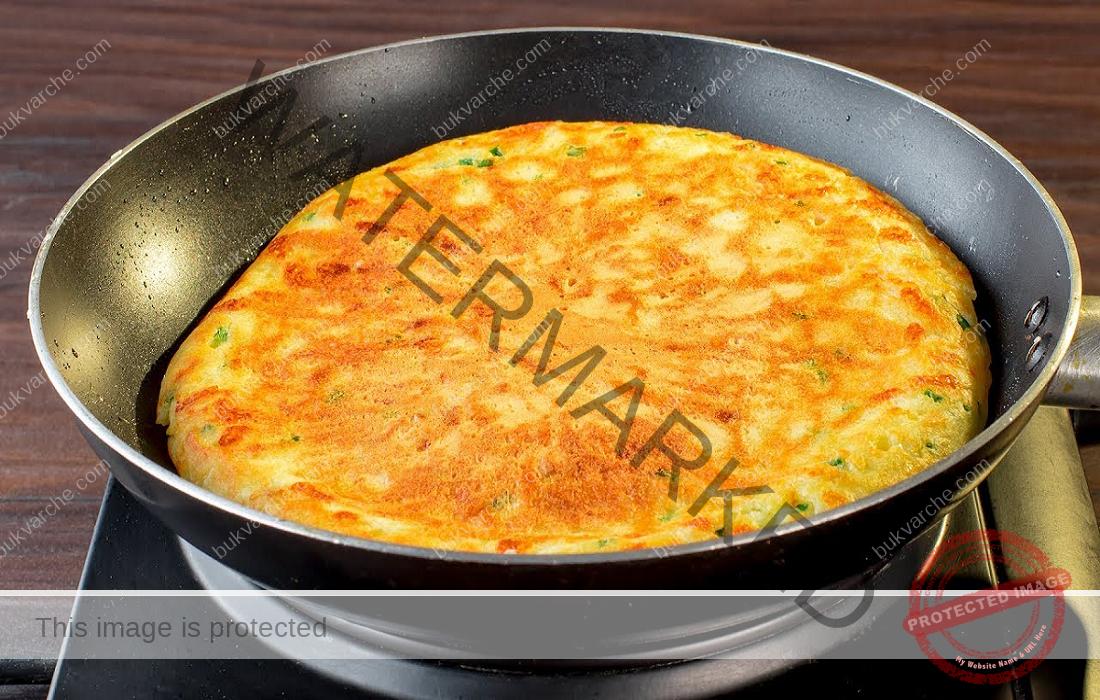 Закуска с картофи, чушки и яйца - вкусно и полезно