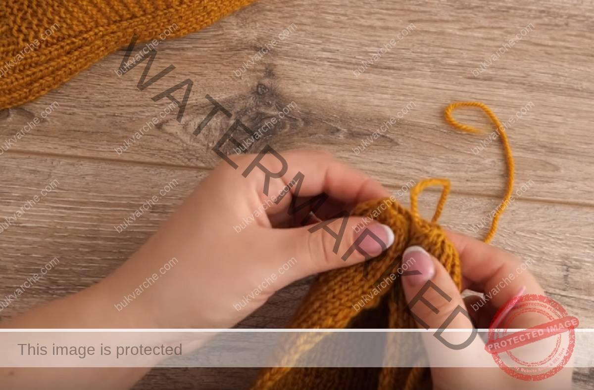 Терлици на две игли, които да си изплетете сами