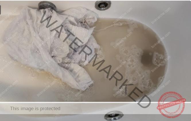 Избелване на пердетата с домашно приготвена смес
