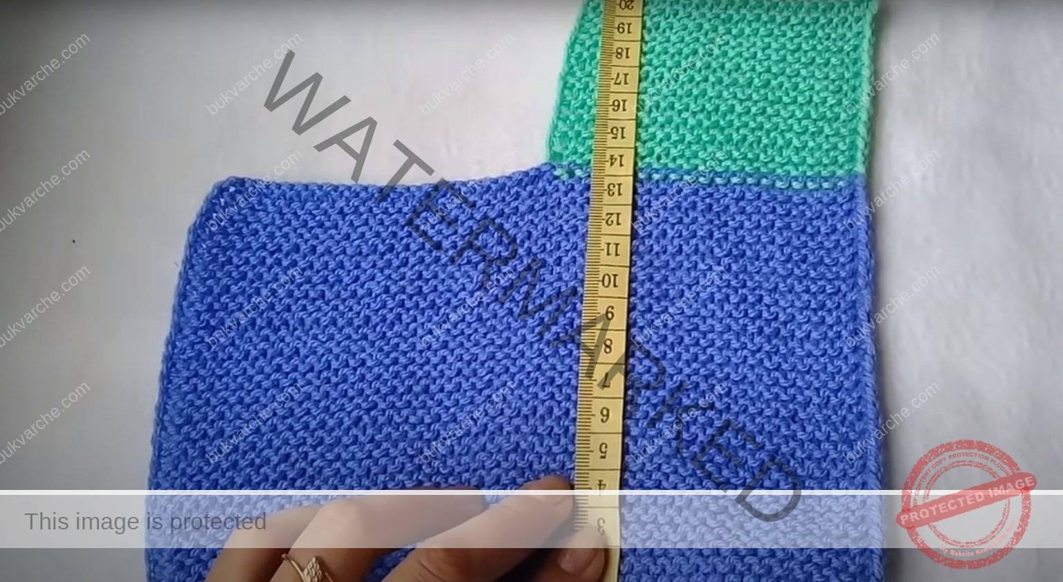 Плетене на терлици на две игли - идеални за подарък