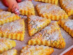 Лесни домашни сладки със сметана. Меки и вкусни!