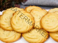 Маслени шприц сладки - меки, вкусни и ароматни