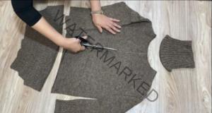Преобразяване на стария пуловер, който не носите