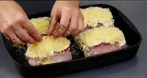 Пържоли със сметана на фурна - истински специалитет