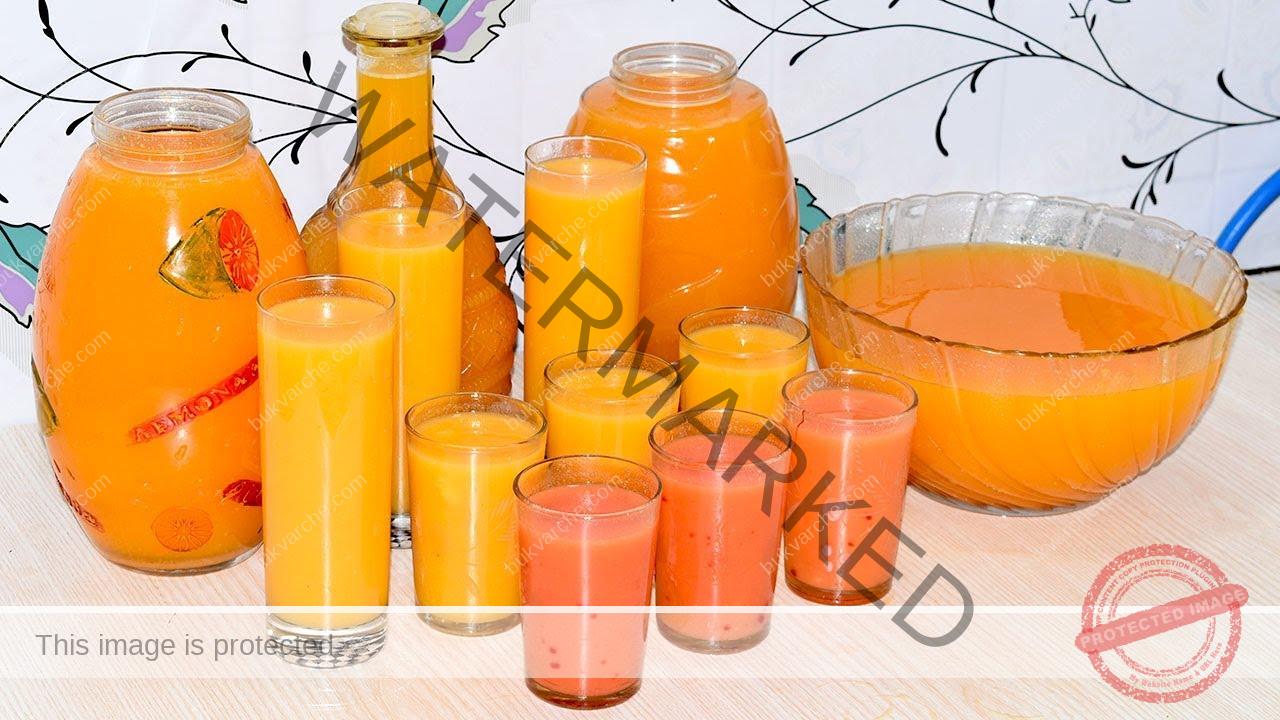 Рецепта за домашен сок - витамини за цялото ви семейство