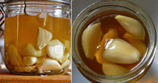 Сироп с чесън и ябълков оцет срещу настинка и грип