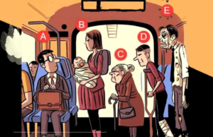 Тест за логично мислене: на кого ще отстъпите мястото си