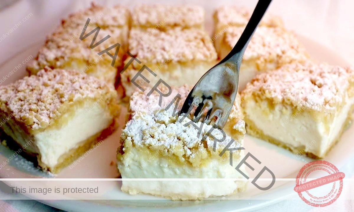 Торта с кисело мляко, жълтъци и нежен крем. Опитайте!