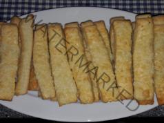 Хрупкави пръчици с кашкавал - вкусно предястие за вашата маса