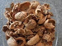 Чай от орехови черупки при първите симптоми на грип