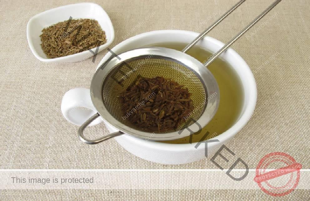Чай при астма и дихателни проблеми от кимион