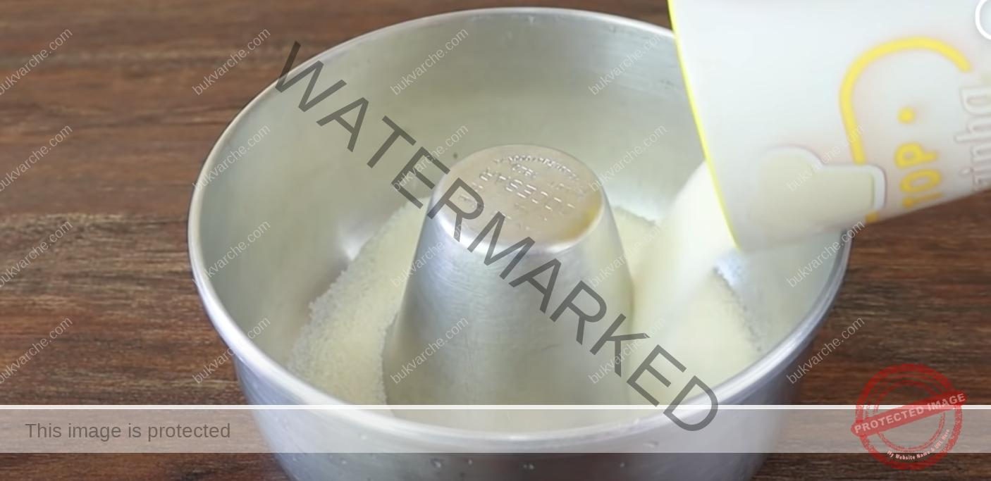 Карамелен сладкиш на водна баня - изискан и нежен вкус