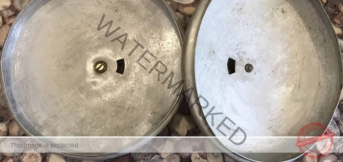 Почистване на алуминиевите съдове от загорелите мазнини