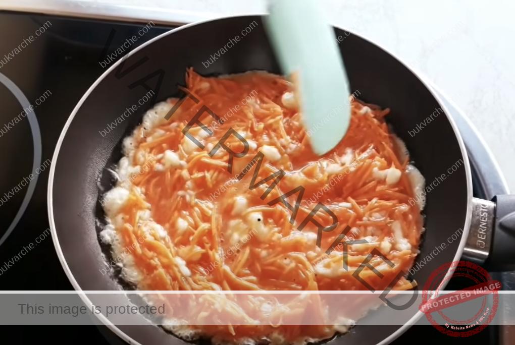 Ястие с моркови, сирене и яйца. Опитайте тази страхотна рецепта!