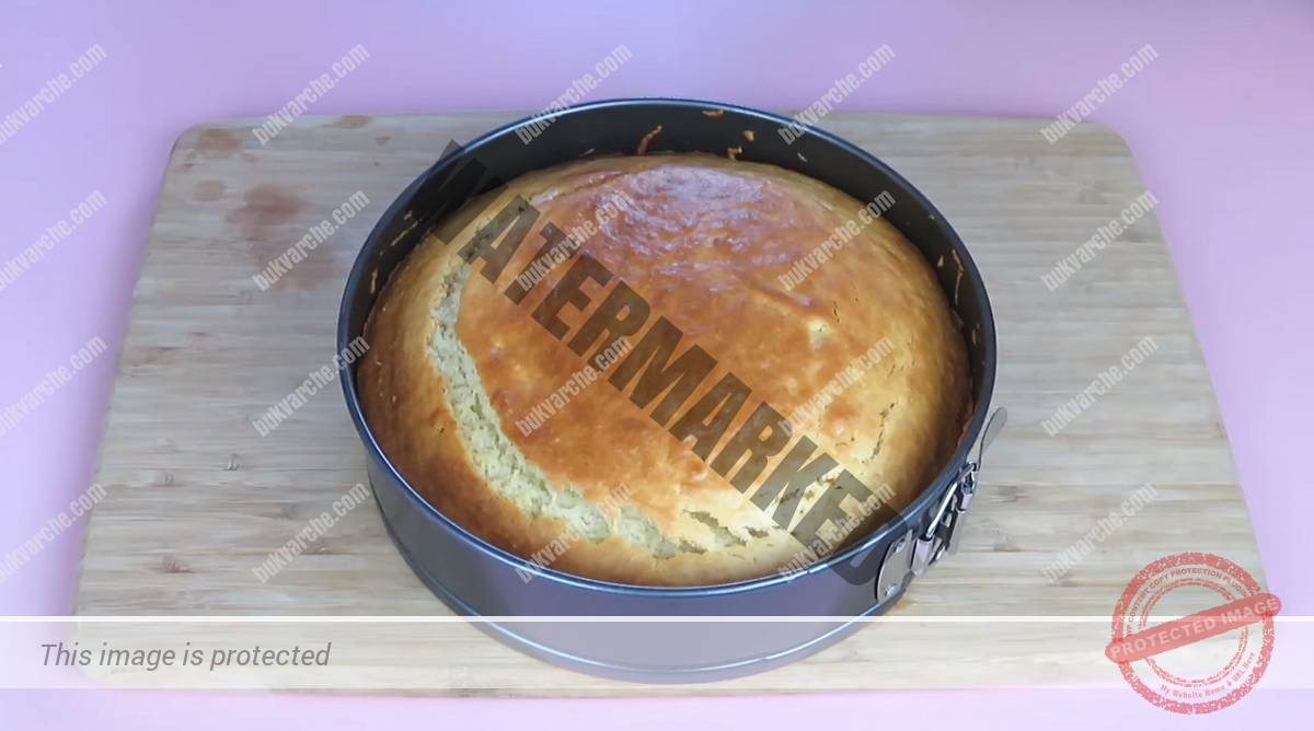 Лимонов кекс, който се прави лесно и бързо и е много вкусен