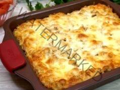 Запеканка с картофено пюре и кайма - сочна идея за вечеря