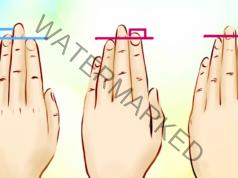 Дължината на безименния пръст и показалеца говори за характера ви