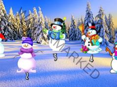 Какво ви очаква догодина - бърз тест със снежни човеци