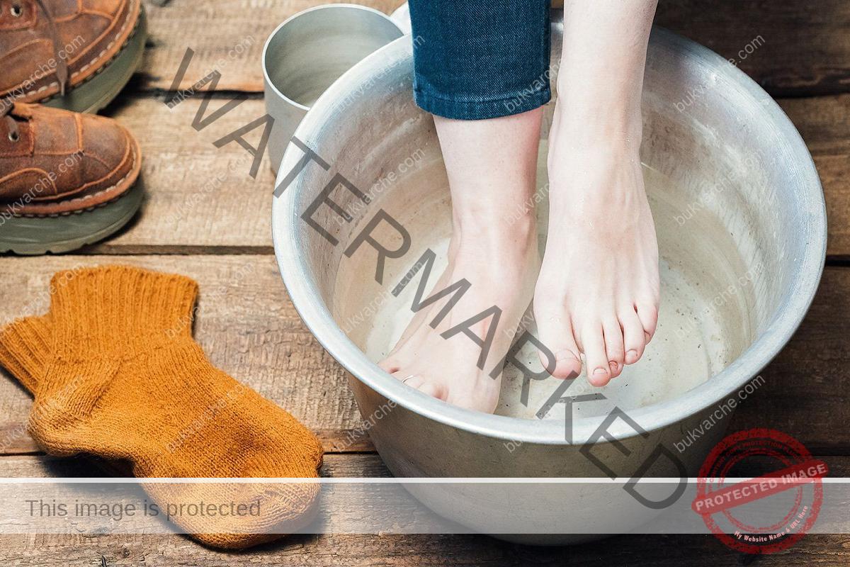 Лечебни вани за крака при болка, възпаление и подуване