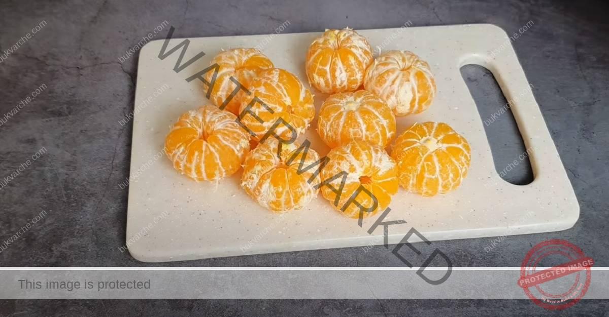 Сладкиш с мандарини - приготвя се с минимум съставки