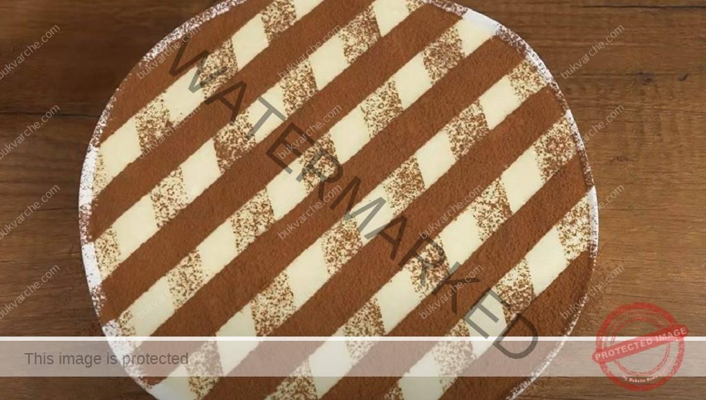 Бишкотена торта с кафе и крема сирене! Нежен и вкусен десерт!