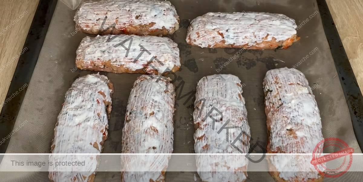 Пълнени кюфтета на фурна - истински деликатес за вечеря
