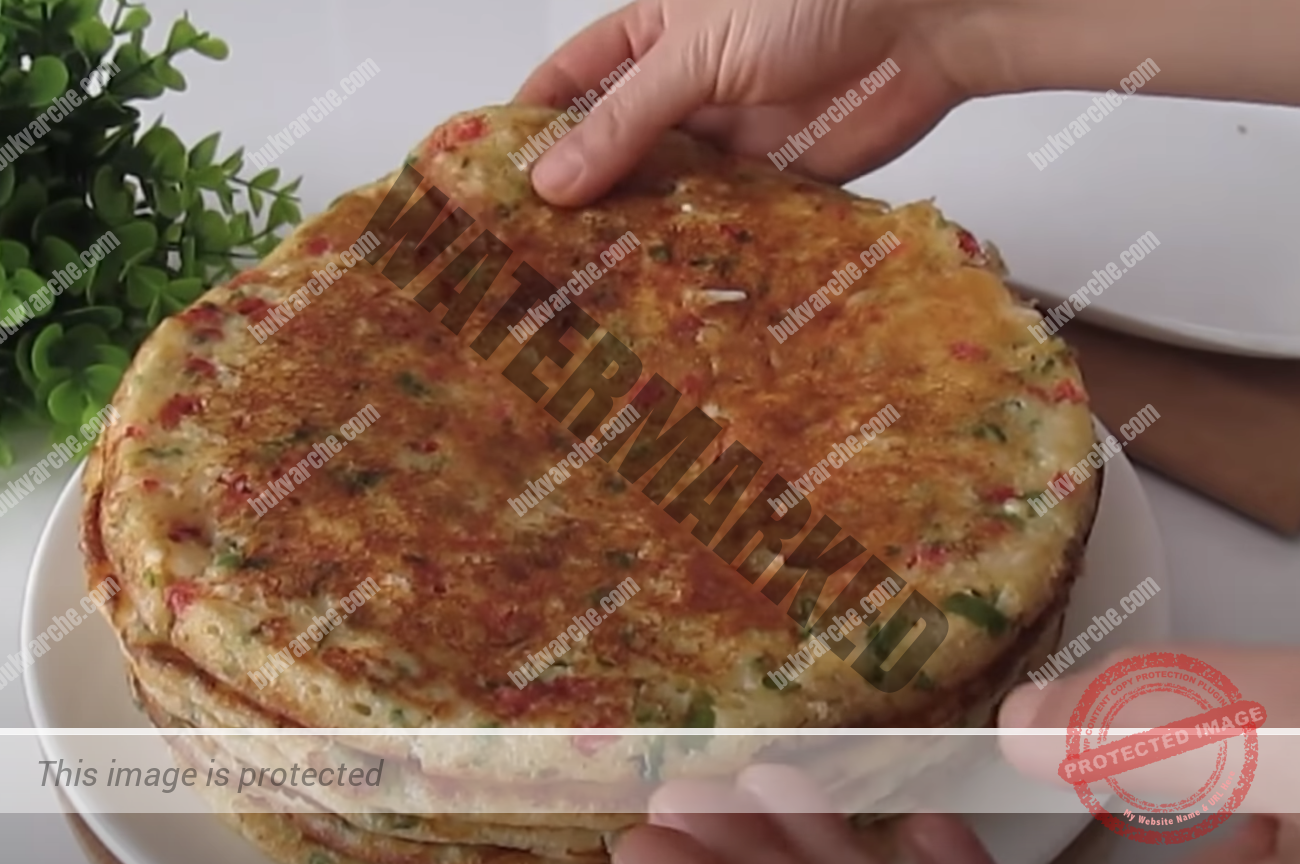 Зеленчукова палачинка, която ще се хареса и на най-претенциозните