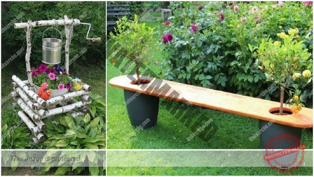 Интересни идеи за градината от вещи, които не са ви нужни вече