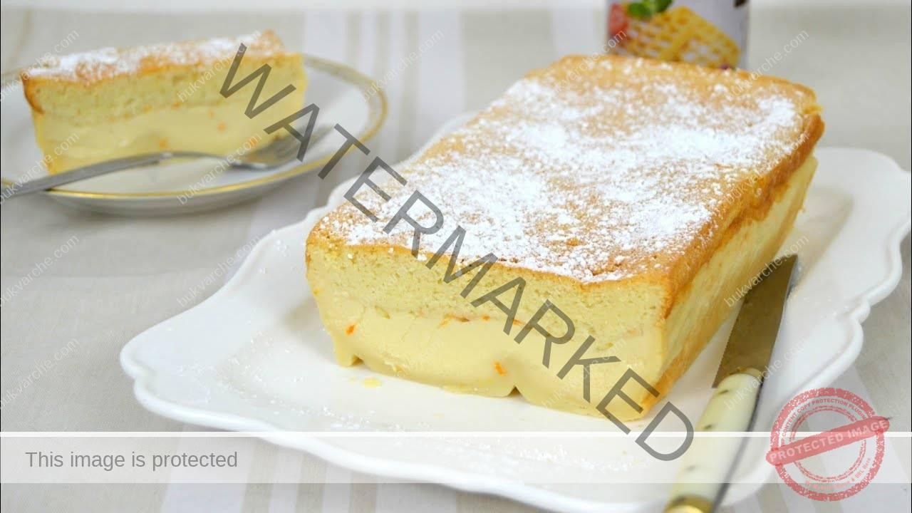 Лесен домашен сладкиш с аромат на лимон и ванилия