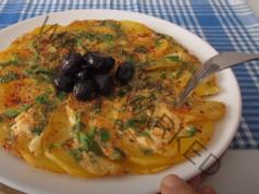 Лесна вечеря с един картоф и две яйца. Приготвя се бързо