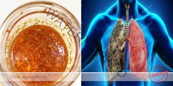 Сироп с куркума за прочистване на белите дробове