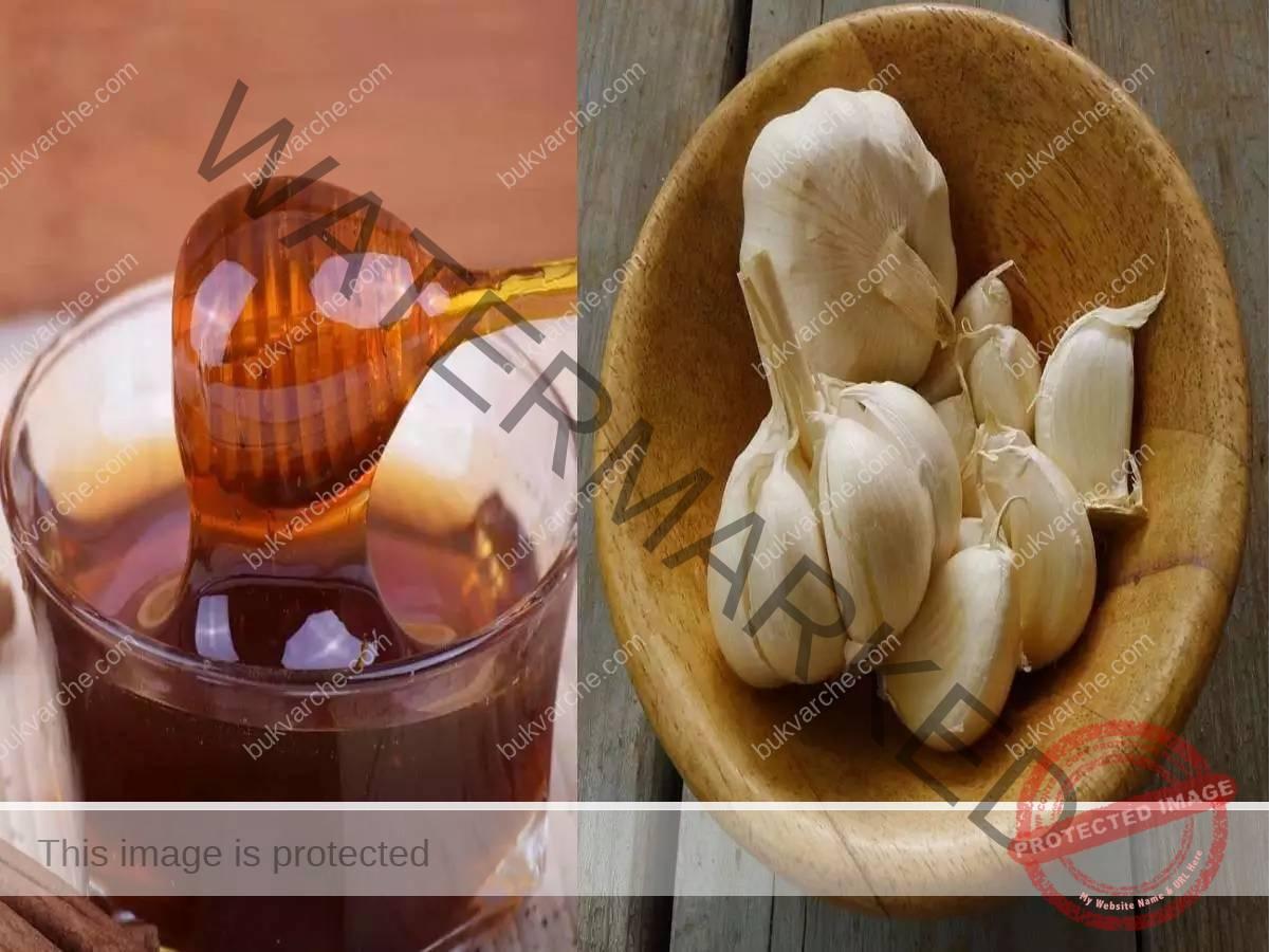 Смес с чесън и мед на гладно срещу настинки и грип